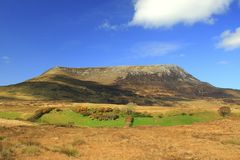Muckish berg, Glenveagh, Co Donegal arkivbilder