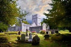 Muckross修道院在爱尔兰 免版税库存图片