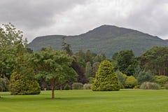 muckross дома приближают к пейзажу Стоковые Фото