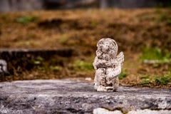 Muckross Abbey Angel stock photo