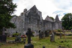 Muckross Abbey Killarney Imagen de archivo libre de regalías
