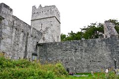 Muckross-Abtei, Killarney, Irland Lizenzfreie Stockfotografie