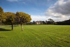 Muckross Estate. Autumn at Muckross Estate,Killarney, Co.Kerry, Ireland with Muckross House in distance Stock Photography