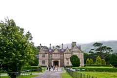 Muckross House, Killarney, Ireland. Muckross House, County Kerry, Ireland - is a Tudor style mansion built in 1843 located on the small Muckross Peninsula Stock Images