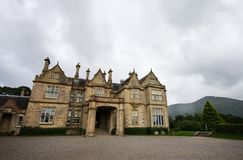 Muckross House and gardens, Ireland. Historical Muckross House and garden, Killarney county, Ireland Stock Image