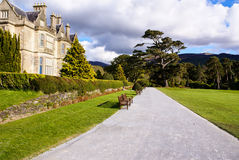 Muckross House and gardens in National Park Killarney, Ireland Royalty Free Stock Images
