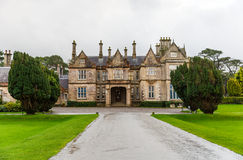 Muckross house in Ireland. View of Muckross house in Killarney National Park Royalty Free Stock Photos
