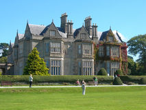 Muckross House in Kerry, Ireland. Muckross House, Victorian mansion, in Killarney, County Kerry, Ireland. It is amongst one of the most visited tourist Royalty Free Stock Images