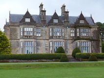 Muckross House Killarney Kerry Ireland. A public property with a surrounding garden stock image