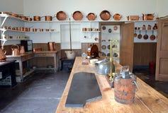 Muckross House kitchen Stock Photography