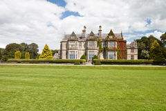 Muckross House in National Park Killarney-Ireland. Situated in Killarney National Park, Muckross House and Gardens are among the most popular of Irish visitor Royalty Free Stock Image