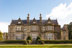Muckross hus och trädgårdar. Killarney. Irland Arkivbilder