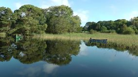 Muckross Lake stock video