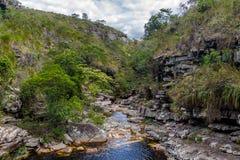 Mucugezinho River in Chapada Diamantina - Bahia, Brazil royalty free stock photos