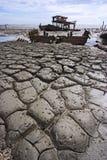 Mud. At seaside Royalty Free Stock Photo