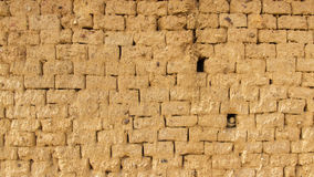 Mud Adobe wall texture Royalty Free Stock Images
