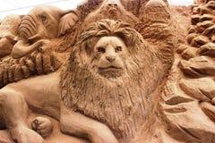 Mud art Royalty Free Stock Image
