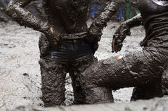 Mud bath Stock Photography