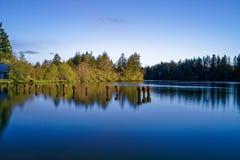 Mud Bay Morning. Last Day of April At Mud Bay Olympia Washington Royalty Free Stock Photography