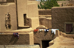 Mud-brick building, Djenne, Mali Royalty Free Stock Images