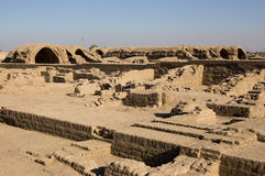 Mud brick magazine, Ramesseum, Luxor, Egypt Royalty Free Stock Image