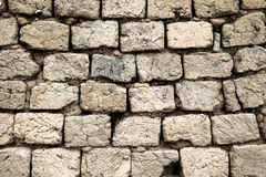 Mud brick wall Stock Photography