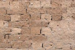 Mud brick wall Royalty Free Stock Photography
