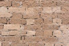 Mud brick wall Stock Images