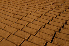 Mud bricks Royalty Free Stock Photography