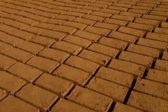 Mud bricks Royalty Free Stock Photography