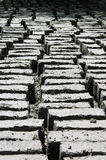 Mud bricks drying in the sun. At a Buddhist monastery in Ladakh, Northern India Stock Photos