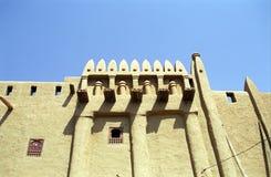 Mud building, Djenne, Mali Royalty Free Stock Photos
