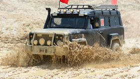 Mud,dirt and challenging places Royalty Free Stock Image