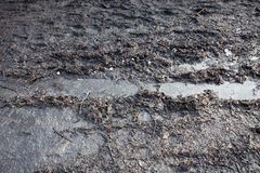 Mud Dirt Track Background Royalty Free Stock Images