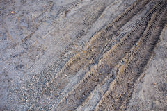 Mud Dirt Track Background Royalty Free Stock Photo