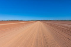 Mud flats in the Australian outback. Stock Image