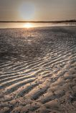 Mud flats at sunrise - Kalumburu Honeymoon Bay royalty free stock photo