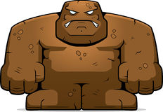 Mud Golem Royalty Free Stock Photos