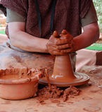 Mud handicraft Royalty Free Stock Images