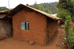 Mud House in Africa Stock Photography