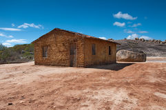 Mud House in Brasil. Mud house in northeast Brazil Royalty Free Stock Photography