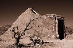 Mud Hut in Grand Canyon Stock Photos