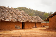 Mud Huts Royalty Free Stock Photography
