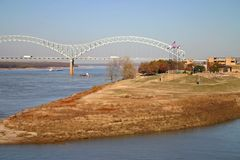 Mud Island In Memphis Royalty Free Stock Image