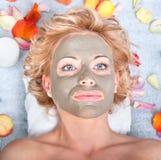 Mud Mask stock photos