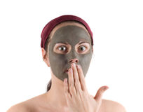 Mud mask Stock Photography