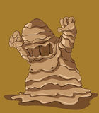 Mud Monster. illustration Stock Image