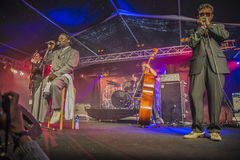 Mud morganfield, usa, notodden blues festival Stock Photos