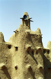 Mud mosque, Senossa, Mali Stock Photography