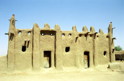 Mud mosque, Senossa, Mali Royalty Free Stock Images